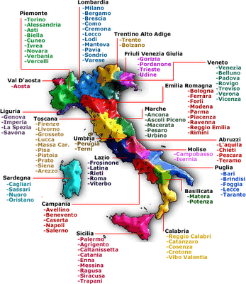 Wine Region Italy Map.Italy S Wine Regions Native Grapes And A Quiz To Test Your
